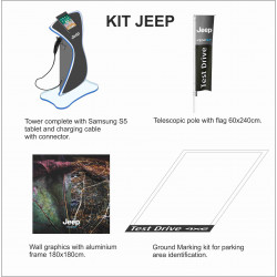 KIT ECV ELECTRIC JEEP