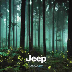 Wall Graphics Jeep 180x180cm