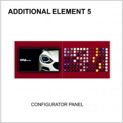 Configurator panel - ITEM 5