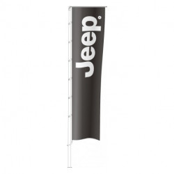 Flag JEEP 400x100
