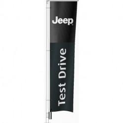 Flag JEEP Test Drive 240x60