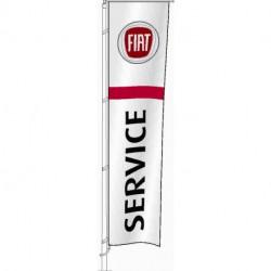Flag Service FIAT 400x100