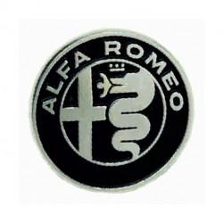 Logo ALFA ROMEO da interno...