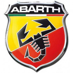 Logo ABARTH da interno in...