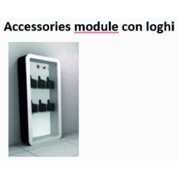 Modulo accessori con loghi