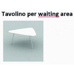 Tavolino per waiting area